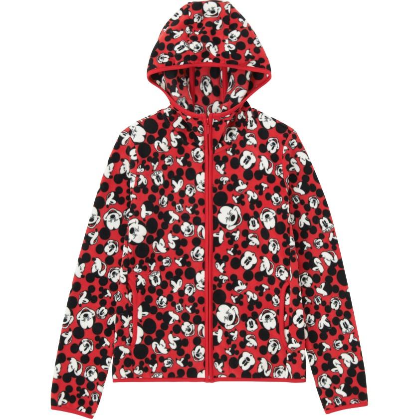 Disney Project搖粒絨拉鏈連帽外套 [長袖]  $249