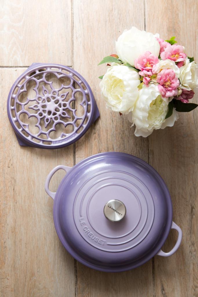 Bluebell Purple 26 cm buffet