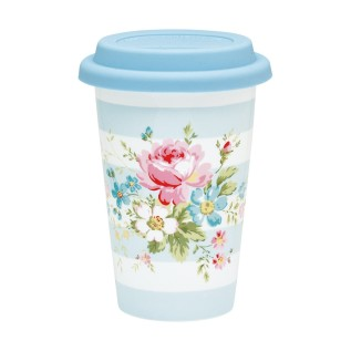 Marie淺藍旅行杯