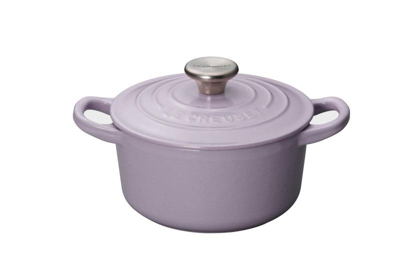 16厘米圓形鑄鐵鍋 (Lavender)